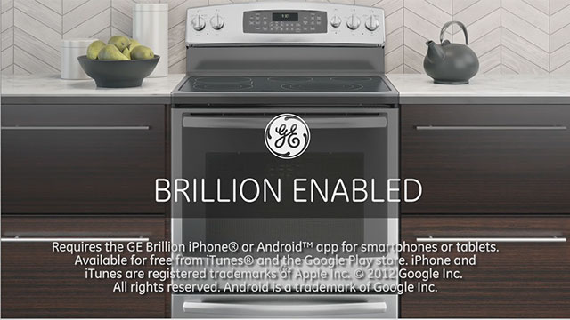 Connected Ranges - GE introduces its first freestanding ranges with Wi-Fi capability that allows consumers to control their oven while away from home.