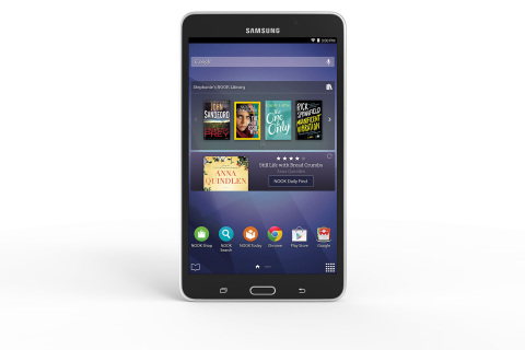 Samsung and Barnes & Noble Introduce New Samsung Galaxy Tab(c) 4 NOOK(c) (Photo: Business Wire)