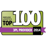 Inbound Logistics Top 100 3PL Providers 2014 (Graphic: Business Wire)