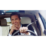 Matthew McConaughey in the all-new 2015 Lincoln MKC (Photo: Business Wire)