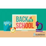 Back to school sentiment report powered by Bubblews Sentiment Analysis (Graphic: Business Wire)