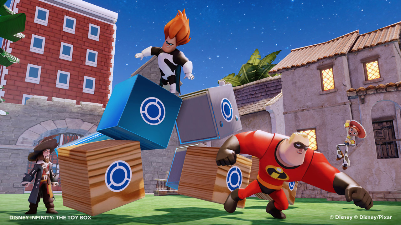 For the first time, Disney Infinity is available in the Nintendo eShop – and it's free to download. (Photo: Business Wire)