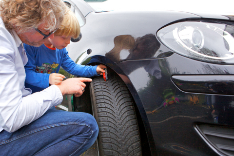 Brakes and tyres are safety factors and especially important to check for the safety of our kids on the roads. (Photo: Business Wire)
