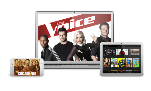 Xfinity On Campus lets college students watch TV across all devices. (Graphic: Business Wire)