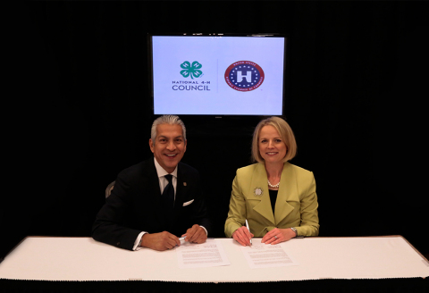 """""""As a proud alum of 4-H, I am thankful for the critical role this institution has played in my past,"""" said Javier Palomarez, President and CEO, USHCC. (Photo: Business Wire)"""