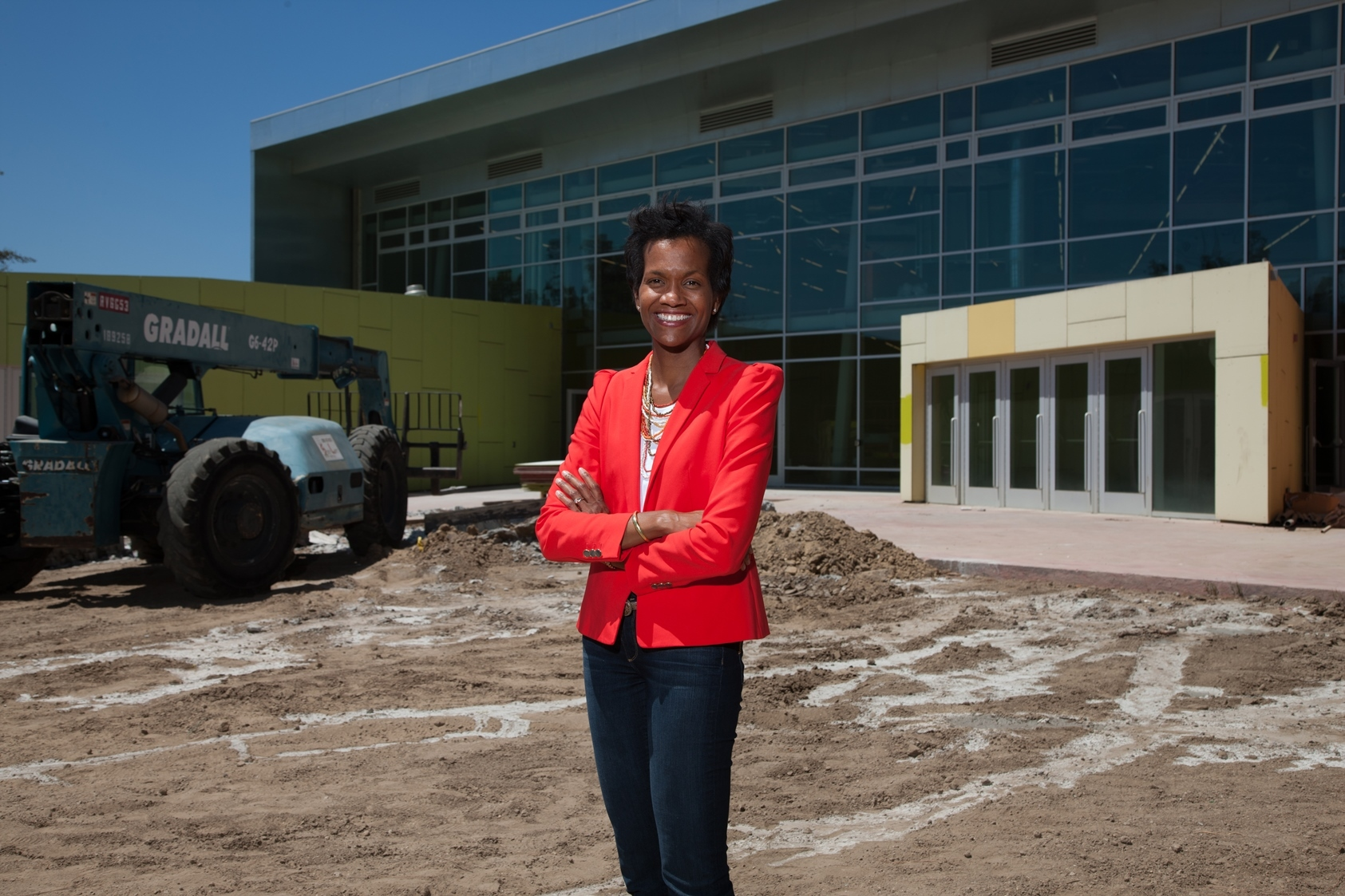 Kafi Blumenfield hired as new executive director of Discovery Cube Los Angeles. (Photo: Business Wire)