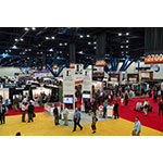 Roughly 6,000 NAPE attendees flock to the George R. Brown Convention Center to scout oil and gas prospects, producing properties and vendor booths set up throughout the show floor. (Photo: Business Wire)
