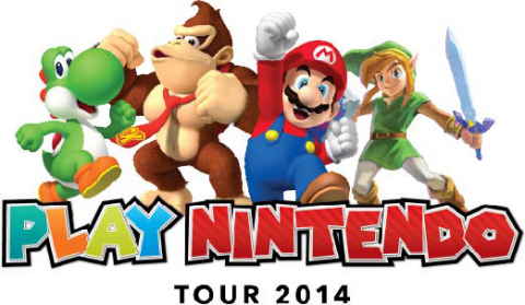 The three-month Play Nintendo Tour 2014 will stop in Houston and showcase Nintendo's latest hand-held system in an immersive gaming playground for kids of all ages. (Photo: Business Wire)