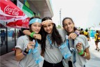 The Nanjing 2014 Youth Olympic Games (YOG) continues to differentiate itself from the Olympic Games by giving the athletes as many opportunities for friendship and interactive experiences as possible. The athletes say they love the Yogger device because it makes keeping track of new friends easy. It also helps them stay in touch after the Games conclude and they return to their countries. (Photo: Business Wire)