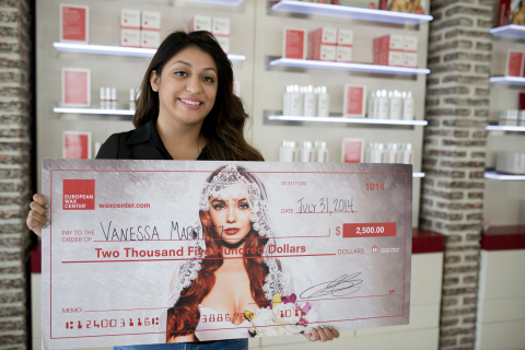 Two Dallas-area brides-to-be have won the European Wax Center (EWC) Dallas Bride of the Year drawing. The drawing was held at the Dallas Bridal Show last month, and brides attending the show entered a contest at the EWC booth during the two day show. EWC had over 530 entrants for the drawing. The First Prize winner, Vanessa Martinez of Dallas, won a cash prize of $2,500 to buy the wedding gown of her dreams; the Second Prize winner, Ashley McDonald, won a day of beauty for herself and her Bridal Party at a European Wax Center near them in Bedford, Texas. (Photo: Business Wire)
