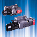 Edwards' ES single stage oil sealed rotary vane vacuum pumps (Photo: Business Wire)