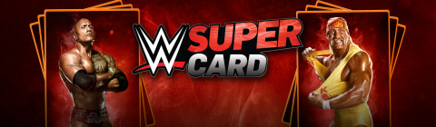 2K today announced the larger-than-life, action-packed collectible card game, WWE® SuperCard, was downloaded more than 1.5 million times during its first week of release. (Graphic: Business Wire)