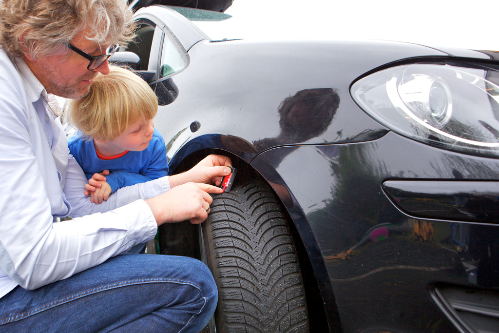 Tyres are safety factors and need to be checked regularly. (Photo: Business Wire)