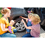 Tyres and brakes are safety factors and need to be checked regularly. (Photo: Business Wire)