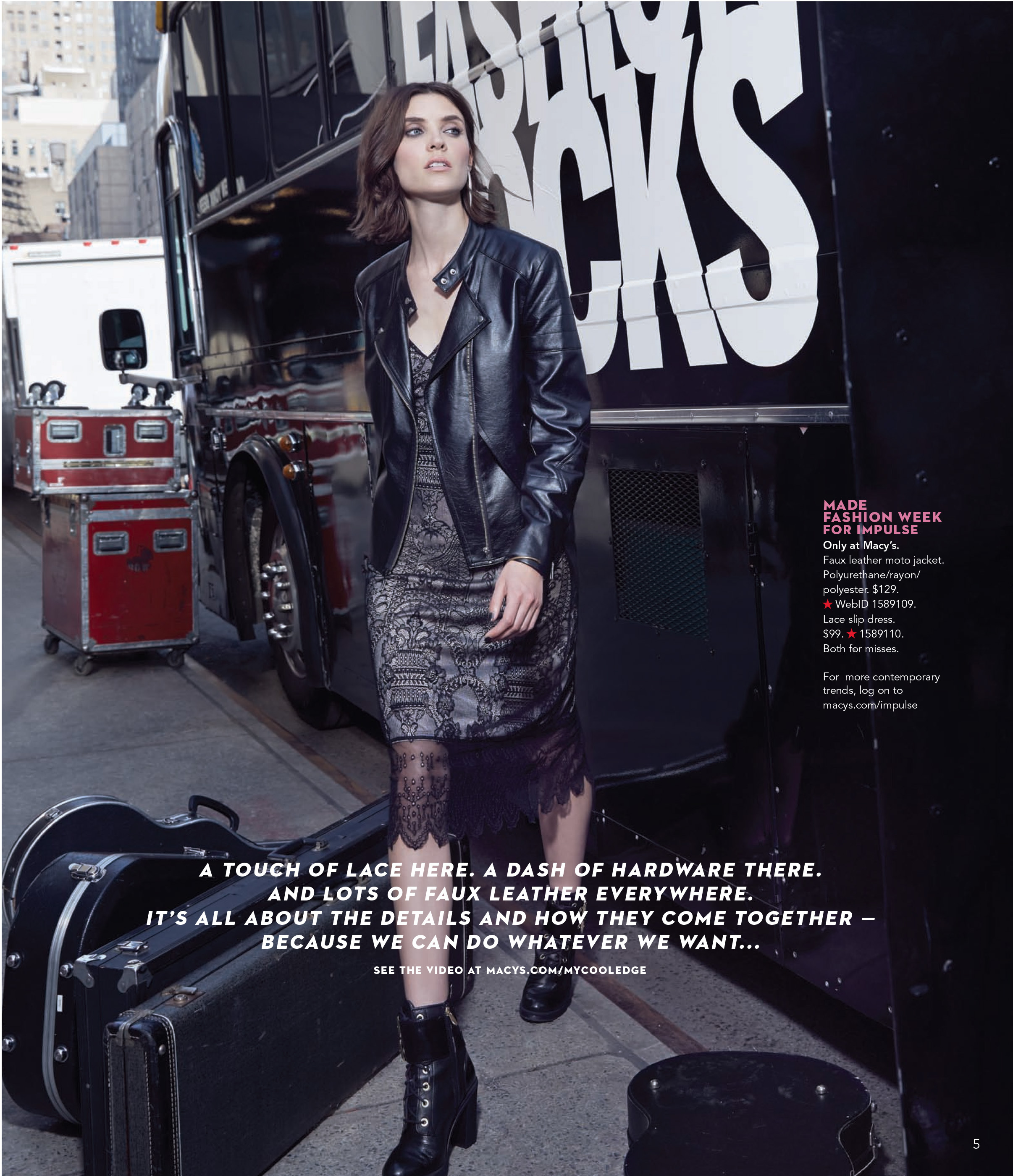 Fashion Rocks(R) at Macy's this Fall as the retailer partners with the acclaimed event to celebrate fashion and music at Macy's stores nationwide. (Photo: Business Wire)