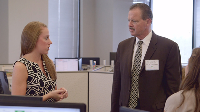 Sound bites from Accolade CEO, Tom Spann; Scottsdale Mayor Jim Lane; and, Danielle Casey, Director, Economic Development, City of Scottsdale; on Accolade's expansion to Scottsdale and plans to hire 300 employees by the end of 2016.  Footage of Mayor Lane's tour of Accolade's office and of the August 25 office ribbon-cutting ceremony. Package also includes sound bites and footage of Accolade Health Assistants at work.
