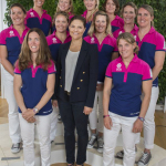 Picture of Crown Princess Victoria and the Team SCA Crew. (Photo: Business Wire)