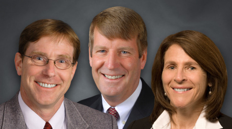 From left to right: New SEH Principals Rick Coldsnow, George Robinson, Patti Craddock. (Photo: Business Wire)