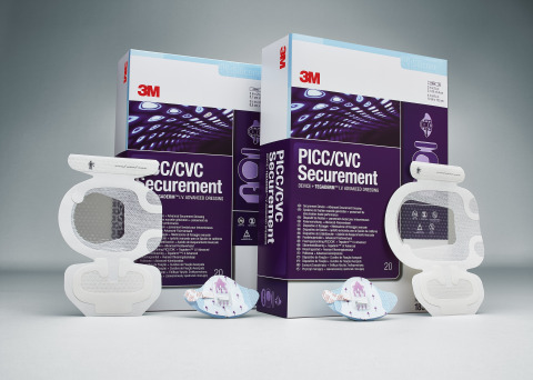 The 3M™ PICC/ CVC Securement System, one of the products included in 3M's purchasing agreement with  ...