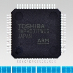 "Toshiba: Multi-function ARM(R) Cortex(R)-M0-core-based microcontroller ""TMPM037FWUG"" with low pin count (Photo: Business Wire)"
