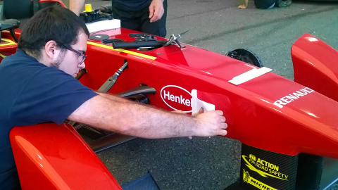 Henkel partners with China Racing Team as Adhesive Exclusive Supplier (Photo: Business Wire)