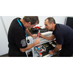 HENKEL also offered support for pre-season tests at Donington Park, England on August 19th, 2014 (Photo: Business Wire)