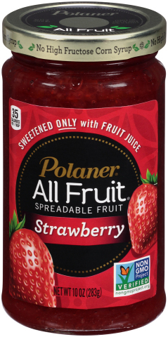 Polaner(R) All Fruit(R) Celebrates Non-GMO Project Verification with New Website and Consumer Contest (Photo: Business Wire)