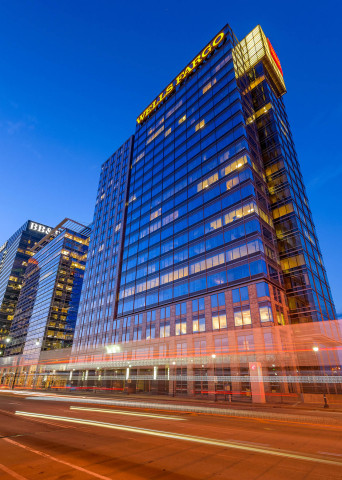 "KBS Real Estate Investment Trust III (""KBS REIT III""), a public non-traded real estate investment trust based in Newport Beach, Calif., announces the acquisition of 171 17th Street, a 21-story, trophy quality office building in Atlanta for $132.5 million plus closing costs. (Photo: Business Wire)"