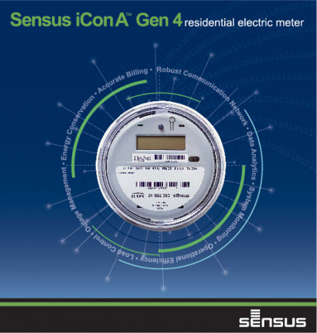 The Sensus iConA(tm) Generation 4 meter offer a host of innovative technologies that bring compelling new benefits to utilities and consumers in the areas of operational efficiency, safety and reliability of service. (Graphic: Business Wire)