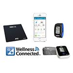 For consumers who want to proactively monitor their health, A&D Medical launched its WellnessConnected(R) platform. (Photo: Business Wire)