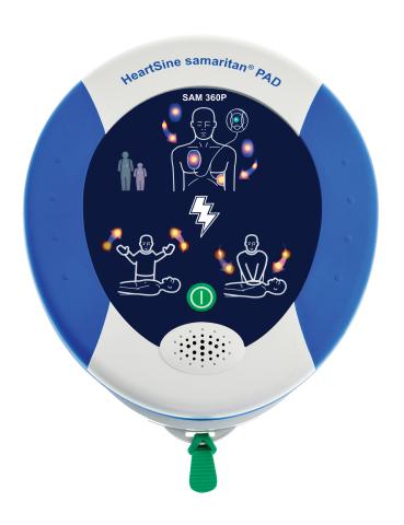 HeartSine samaritan PAD 360P Fully Automatic Public Access Defibrillator (PAD) (Photo: Business Wire)