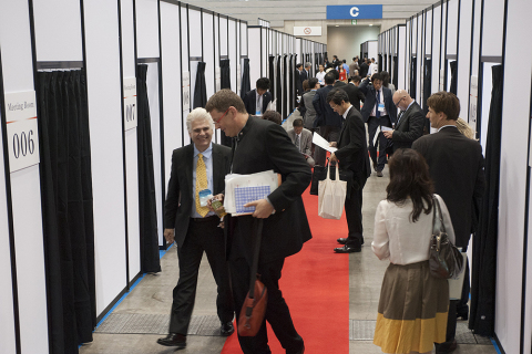 BioJapan 2013 - Partnering Area - (Photo: Business Wire)