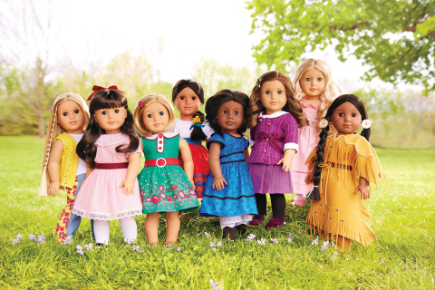 American Girl's BeForever line of historical dolls, books, and related accessories. (Photo: Business Wire)