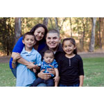 Mom Vanessa Garcia of Hollister, Calif., and two of her children have been successfully treated for cleft lip and palate care at Lucile Packard Children's Hospital Stanford. (Photo: Business Wire)