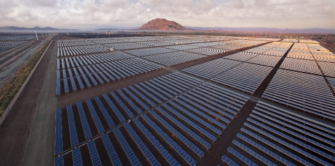 Fluor designed and built the 170-megawatt Centinela Solar Energy Facility near El Centro, California (Photo: Business Wire)