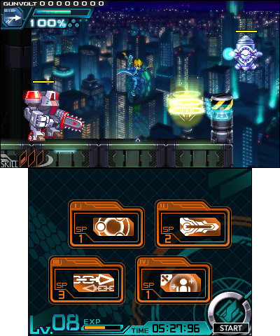 From Inti Creates and featuring the talents of Keiji Inafune, the creator of the Mega Man series, Azure Striker GUNVOLT takes the best aspects of Japanese 16-bit classics and updates them with new play mechanics and slick graphics. (Photo: Business Wire)