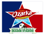 """On Thursday, August 28, Ozarka(R) Brand 100% Natural Spring Water, the official bottled water of Southlake Carroll High School Football and Dragon Stadium, launched its """"Taste the Texas Tradition"""" campaign calling on Texans to share their favorite football traditions on social channels using #TexasTradition and #H2Ozarka. (Graphic: Business Wire)"""