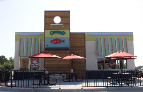 Captain D's newest franchise location in West Point, Mississippi. (Photo: Business Wire)
