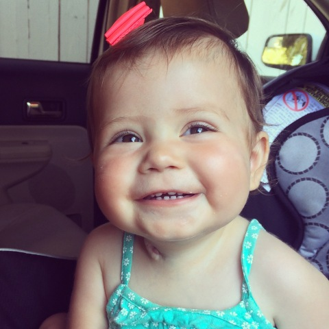 "A happy and healthy Haven Forner today. ""Every laugh, smile, milestone and breath is because of CHLA,"" says mom Aja Forner. (Photo: Business Wire)"