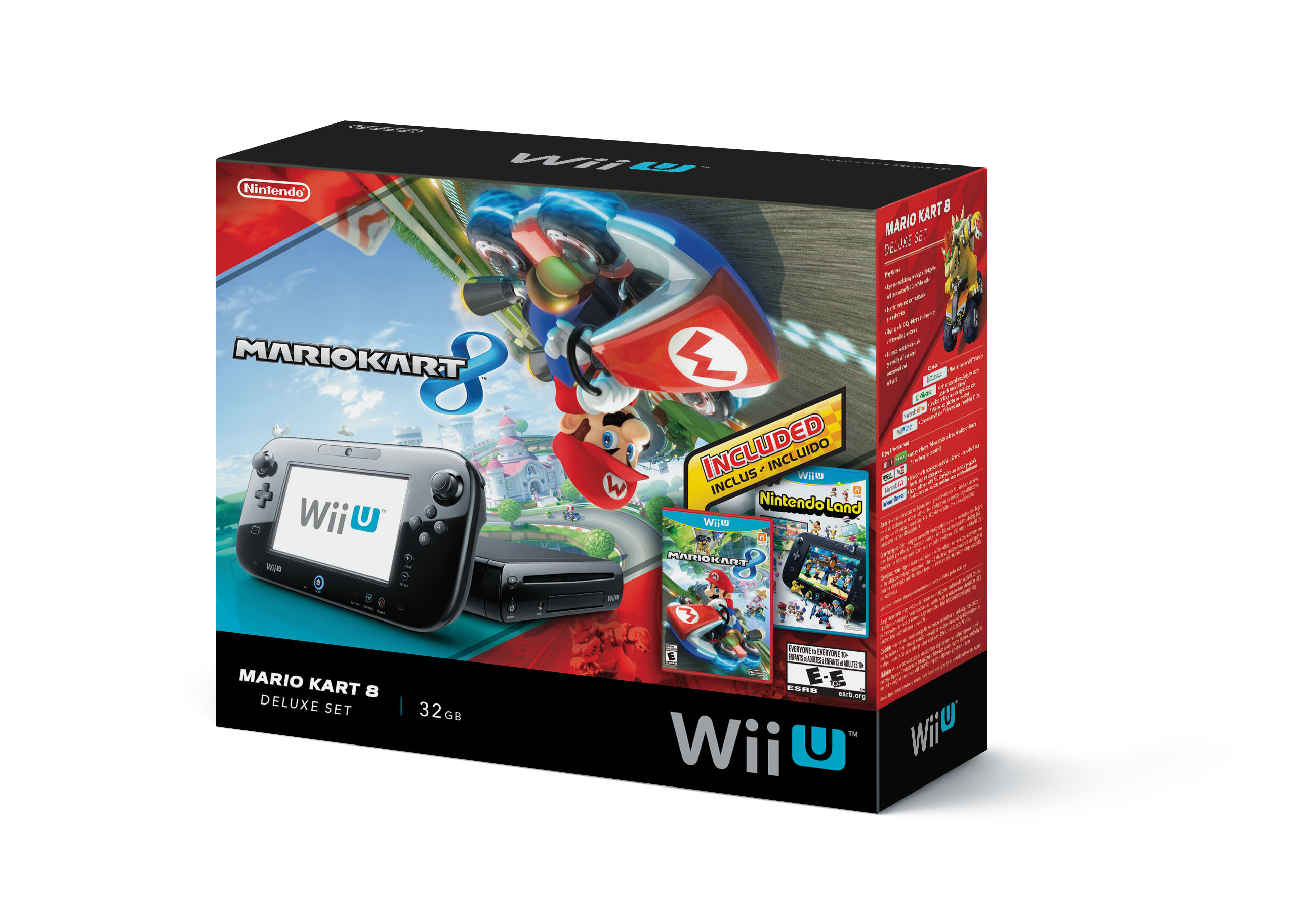 In mid-September, Walmart stores nationwide will offer a special-edition Wii U bundle that includes the console along with physical Mario Kart 8 and Nintendo Land games at a suggested retail price of $299.99. (Photo: Business Wire)