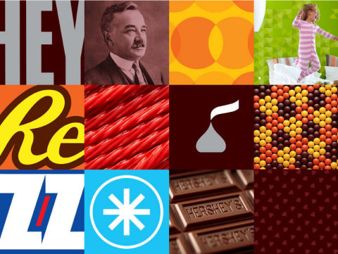 The Hershey Company Visual Identity System (Photo: Business Wire)