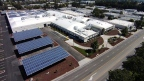 The commercial solar energy system at the Fortinet tech campus by Blue Oak Energy. (Photo: Business Wire)
