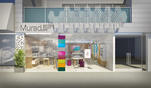 Murad flagship store rendering (Photo: Business Wire)