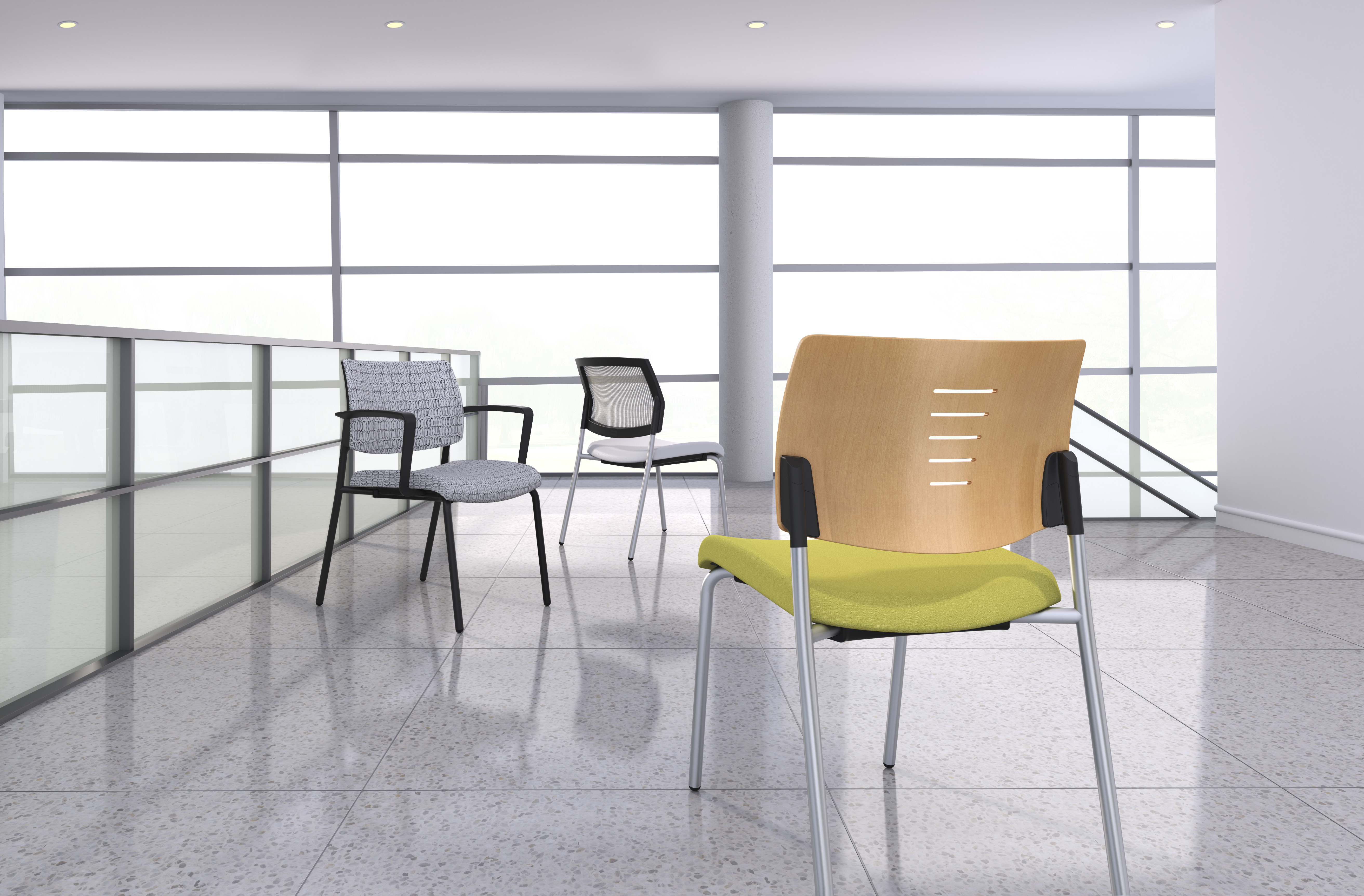 SitOnIt Seating Introduces Focus Side with Wood and Upholstered ...