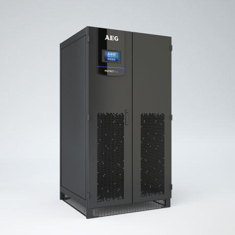 Protect Blue, AEG Power Solutions flagship UPS for data centers (Photo: Business Wire)