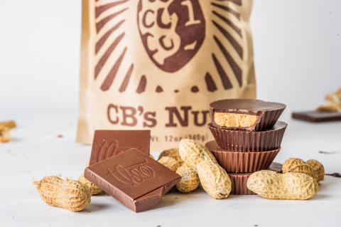 Theo Peanut Butter Cups are made with 100 percent organic and IMO Fair for Life certified Congolese cocoa, and special dark roast peanut butter made with domestically sourced organic peanuts from small batch roaster CB's Nuts. (Photo: Business Wire)