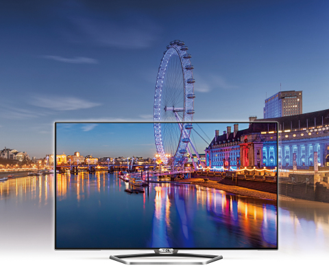 """TCL's new 55"""" 4K TV with Quantum Dot Color (Photo: Business Wire)"""