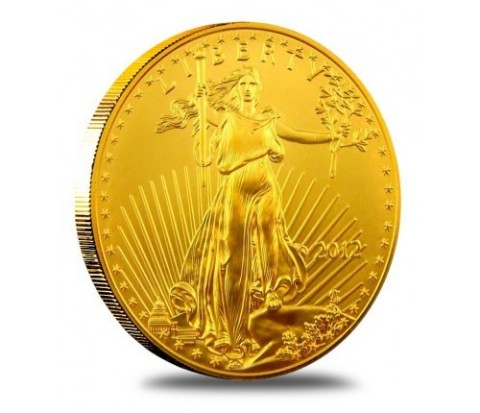 1 Oz. American Gold Eagle Gold  (Photo: Business Wire)