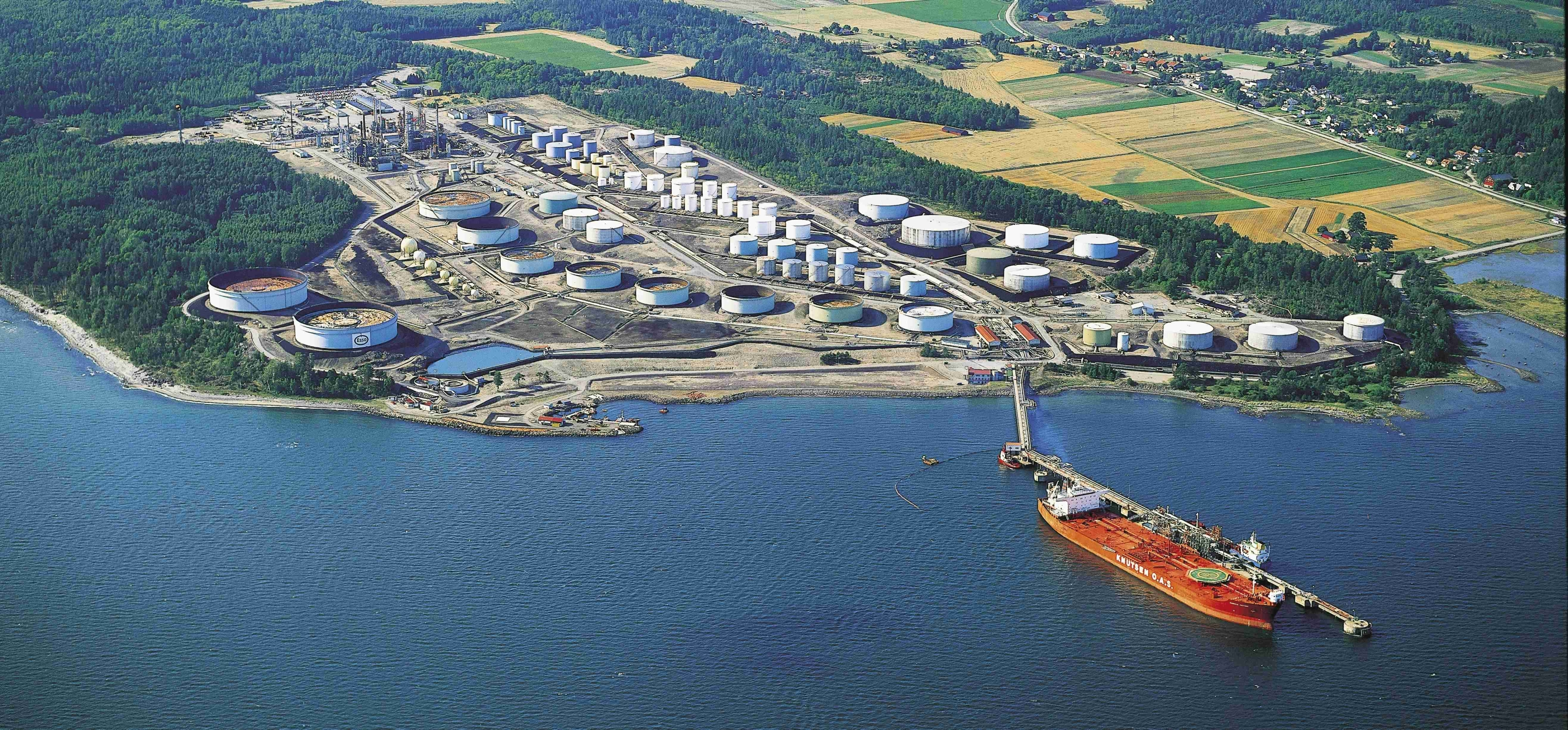 ExxonMobil's Slagen refinery (Photo: Business Wire)