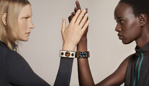 MICA bracelet, designed by Opening Ceremony, engineered by Intel (Photo: Business Wire)